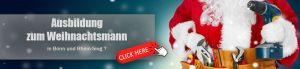 Ausbildung zum Weihnachtsmann ?