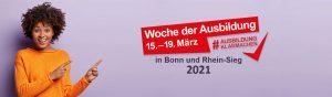 Die Woche der Ausbildung 2021 in Bonn und Rhein-Sieg