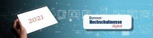 Die digitale Bonner Hochschulmesse  2021 wächst!
